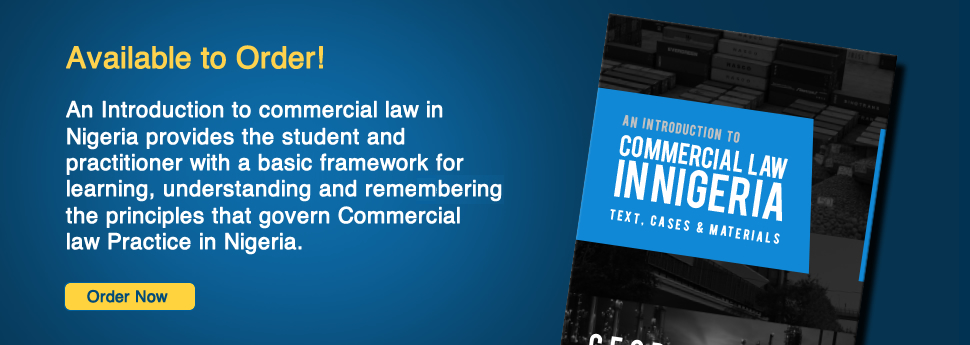 Commercial Law in Nigeria